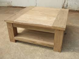 rustic square coffee table rustic recycled teak taplock square coffee table with shelf living