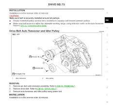 nissan armada air suspension fuse how to change drive belt nissan titan forum