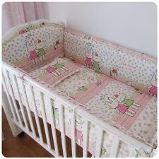 Crib Bedding Pattern Promotion 6pcs Baby Crib Bedding Set Pattern Bed