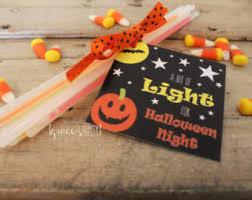 glow stick tags etsy