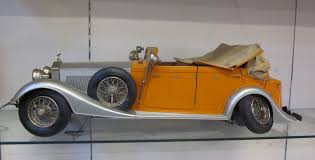 roll royce orange a pocher 1 8 scale orange 1934 rolls royce phantom ii torpedo