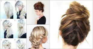 different hairstyles in buns top 10 messy updo tutorials for different hair lengths
