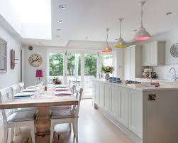 Hardwood Floor Kitchen Farrow U0026 Ball Elephant U0027s Breath Interiors By Color