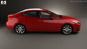 mazda 3 sedan 360 view of mazda 3 sedan 2014 3d model hum3d store