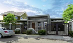 Small Bungalow by Modern Bungalow House Exterior Design Modern Bungalow Zen House Modern