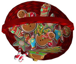 second life marketplace hey kiddo christmas cookie basket boxed