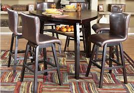 rooms to go dining sets shop for a noah 7 pc pub diningroom at rooms to go find dining