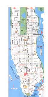 Midtown Manhattan Map Popular 216 List Map Of Manhatten