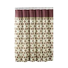 Brown Waffle Weave Shower Curtain by Creative Home Ideas Ombre Waffle Weave 70 In W X 72 In L Shower