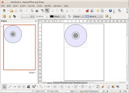 printable cd cover template penguintutor openoffice org libreoffice draw template for