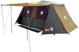 coleman instant up 10 tent gold series tentworld