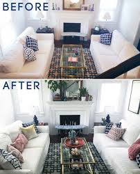 before and after living room and dining room re style u2014 a simpler