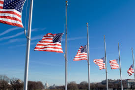 Indiana Flag Images President Trump Orders Flags To Fly At Half Staff To Honor Las