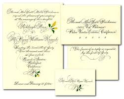 wedding invitations and response cards wedding calligraphy wedding set wedding invitation response