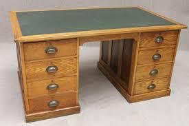 Oak Office Desks 1920s Oak Office Desk Antiques Atlas