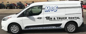 truck van van rental in swindon m u0026s van and truck rental