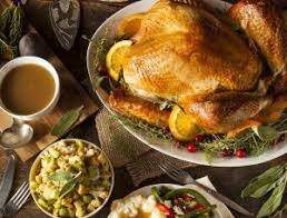thanksgiving at the national cafè peyton and
