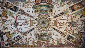 Ceiling Art The Ornamentalist Grotesque Obsession Uffizi East Corridor