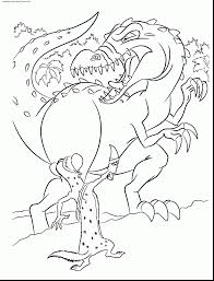 wonderful ice age tyranosaurus colouring pages with ice age