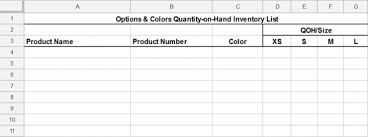 free inventory template how to track and count physical inventory