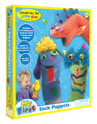 amazon com creativity for kids my first sock puppets toys u0026 games