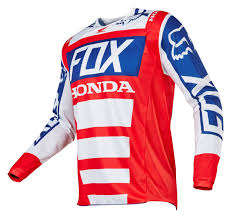 fox motocross gear for men fox racing 180 honda jersey size sm only revzilla