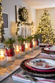 dining table christmas decorations 35 christmas table decorations place settings tablescapes