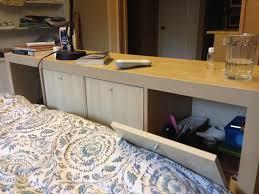 ikea kallax headboard expedit headboard doors on bed side drawers on lower reverse