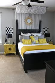 grey and yellow mixed wedding party living room walls bedroom gray