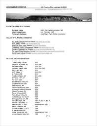 Resume Affiliations Resume U2014 Ann Ginsburgh Hofkin Photography
