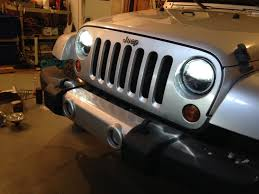 jeep jku truck conversion jeep jk trucklite led headlight install youtube