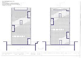 Plan De Loft Gaetano Pesce Loft Verticale Proposal 1982 U2013 Atlas Of Interiors