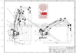 Pedestal Crane 150t Knuckle Boom Marine Pedestal Crane Abs Certifiation Machine