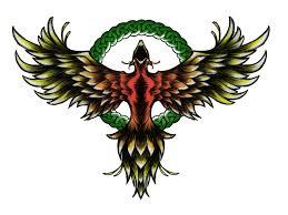 free designs phoenix immortality symbol tattoo wallpaper