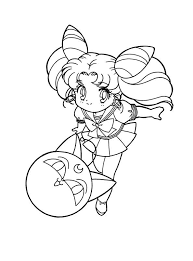 sailor moon chibiusa coloring pages coloringstar