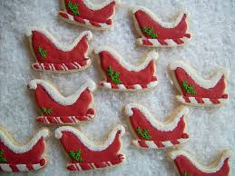 24 best sleigh cookie images on pinterest christmas baking