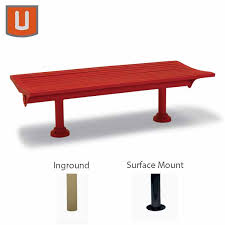 Commercial Outdoor Benches 6 Ft Outdoor Commercial Park Bench Burns Harbor Collection