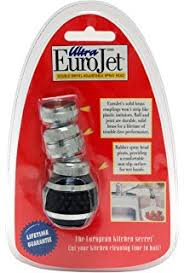 spray attachment for kitchen faucet amazon com kimball silver faucet sprayer attachment