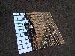 mosaic on mesh