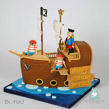 bc4160 pirate ship kids birthday cake toronto bc4160 pirat u2026 flickr