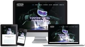 kitchener web design reved website for astron specialty metals news web design