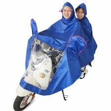 bike raincoat 5 shade bicycle jacquard motorbike double individual raincoat