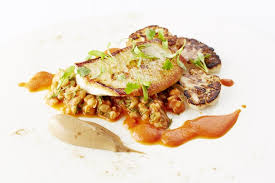 cuisiner un turbot turbot with pearl barley recipe great chefs