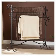 bathroom standing towel rack examples for better bathroom