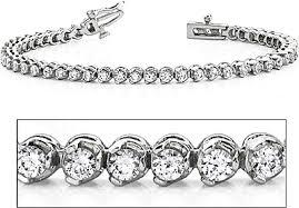 white diamond tennis bracelet images 18k white gold three prong diamond tennis bracelet 3ct tw asb3503 png