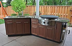 outdoor kitchen backsplash ideas small outdoor kitchen design and decoration black granite