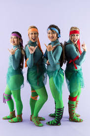 Teenage Mutant Ninja Turtles Halloween Costumes Girls 130 Group Halloween Costume Ideas Brit