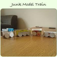 junk model train art story ifeas pinterest model train