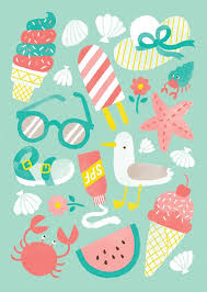 what does pattern mean a set of summer inspired patterns what does summer mean to you for