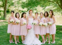 soft pink bridesmaid dresses fashion for your